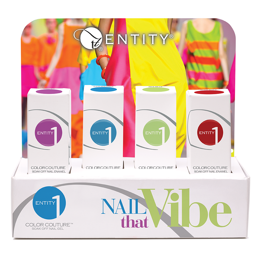 4pc Nail That Vibe Display Summer 2016 Collection